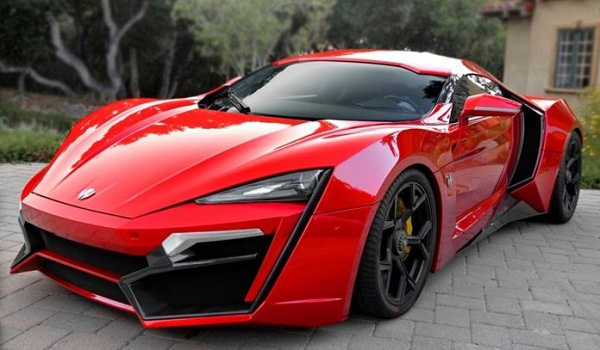 W Motors Lykan Hybersport 2018